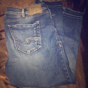 Silver Jeans Co.  Avery Skinny Crop 36/24